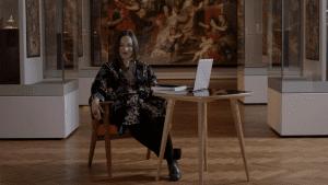 """Noc Księgarń ze sztuką. """"Rozmowy obrazów"""" Grażyny Bastek"""